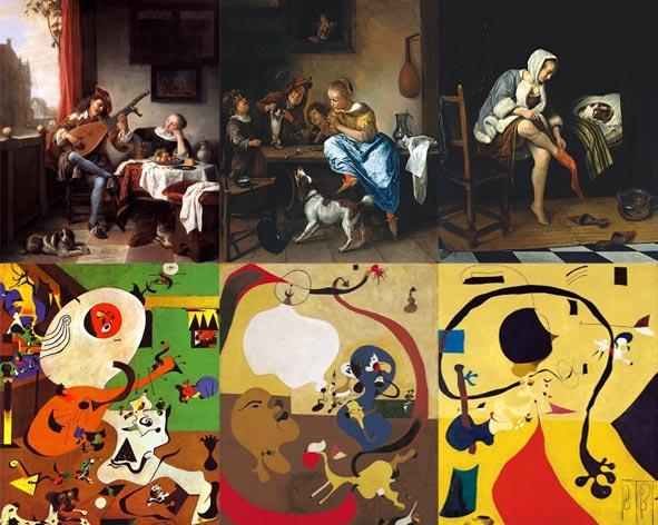 Joan Miro: Dutch Interiors